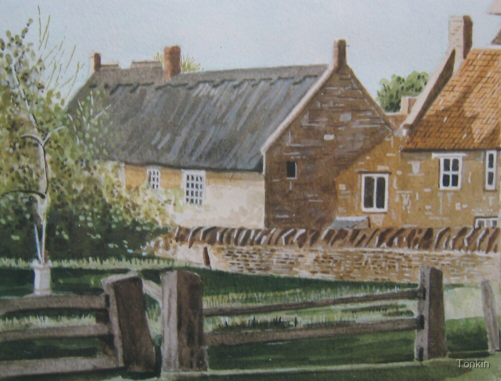 View from The Priory, Stoke-sub-Hamdon by Tonkin