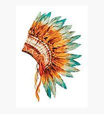 Chief's Headdress Photographic Print