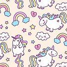Unicorn Pattern - A by 4ogo Design