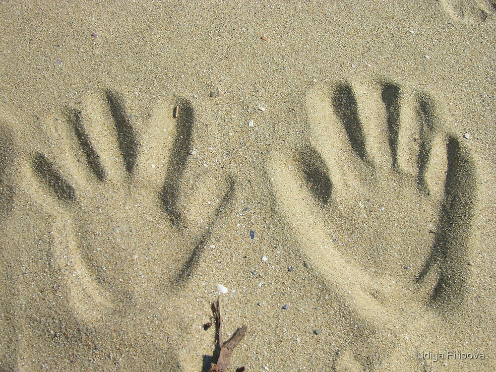 Sand Prints by Lidiya