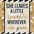She Leaves a Little Sparkle Wherever She Goes by Tangerine-Tane