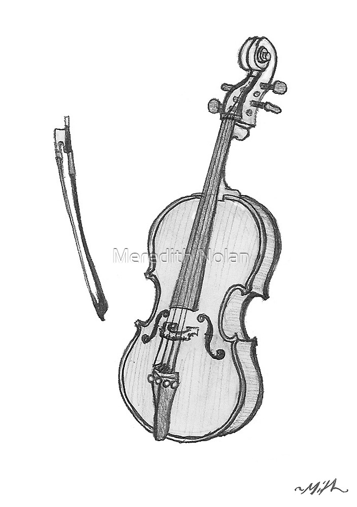 Cello by Meredith Nolan