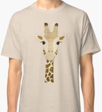 Golden Glitter Giraffe Classic T-Shirt