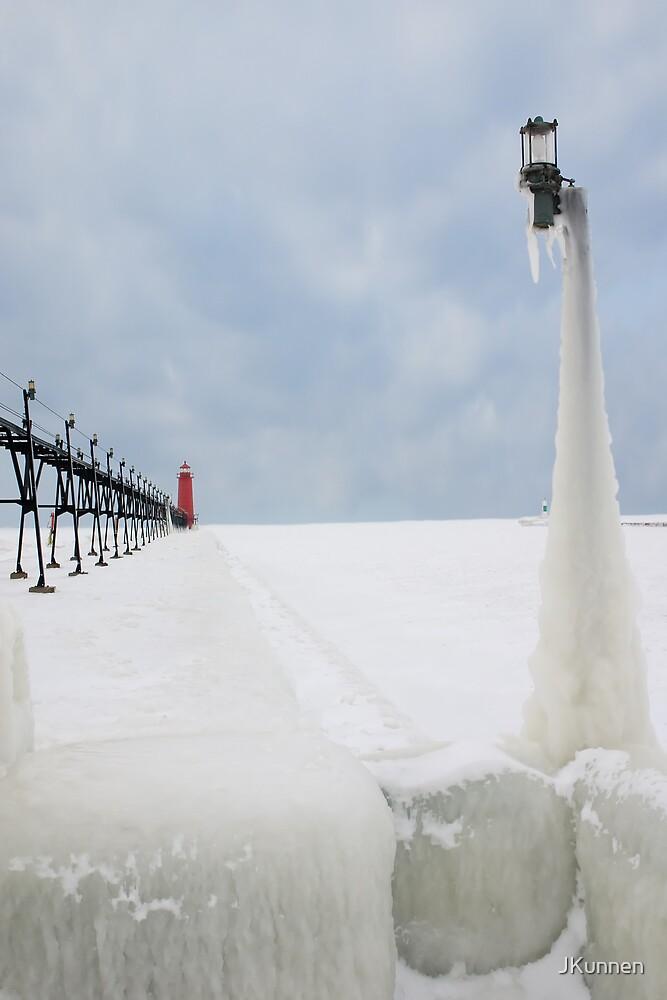 Great Lakes channel in Winter by JKunnen
