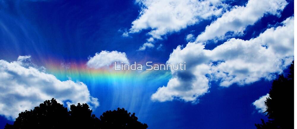 Rainbow sky by Linda Sannuti