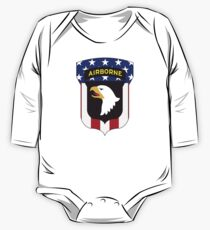 101ST AIRBORNE DIVISION PATRIOT One Piece - Long Sleeve