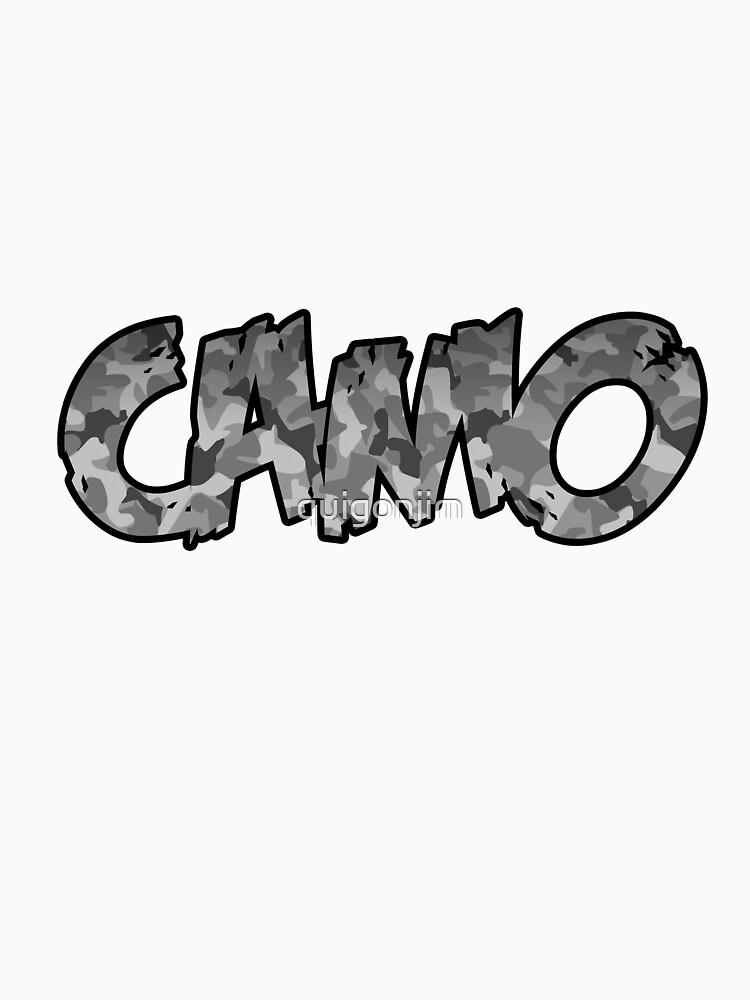 Camo (grey) by quigonjim