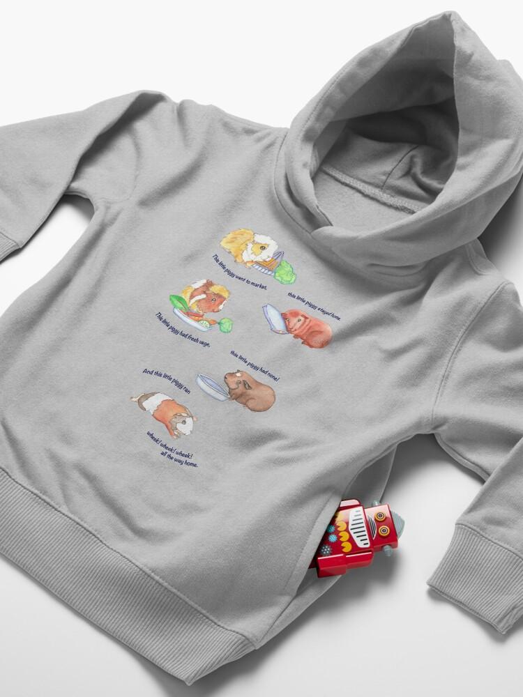 Vista alternativa de Sudadera con capucha para bebé Este Litte Piggy
