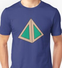 Green Triangles Unisex T-Shirt