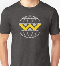Weyland Yutani Corp - Building Better Worlds (white text) T-Shirt