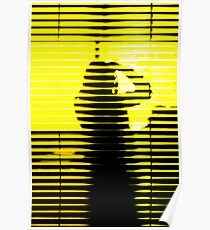 yellow shadow Poster