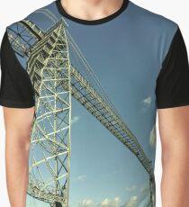 Newport Transporter Bridge  Graphic T-Shirt