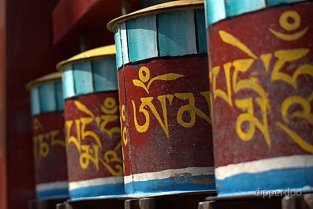 Buddhist Drums by dipperdoo
