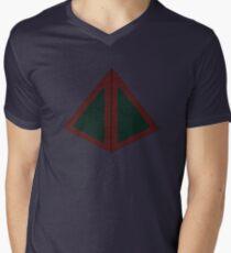 Camiseta para hombre de cuello en v Legion obelisco
