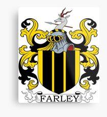 Farley Coat of Arms Metal Print