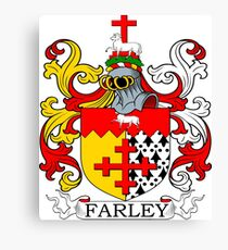 Farley Coat of Arms Canvas Print
