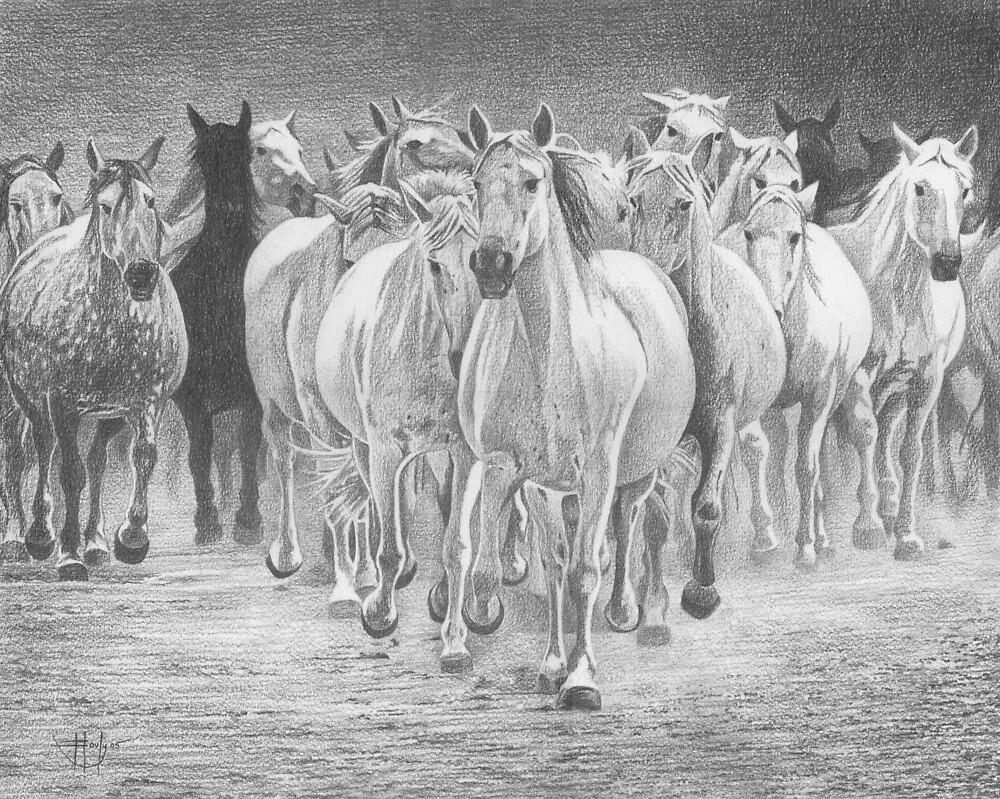 White Lightning by John Houle