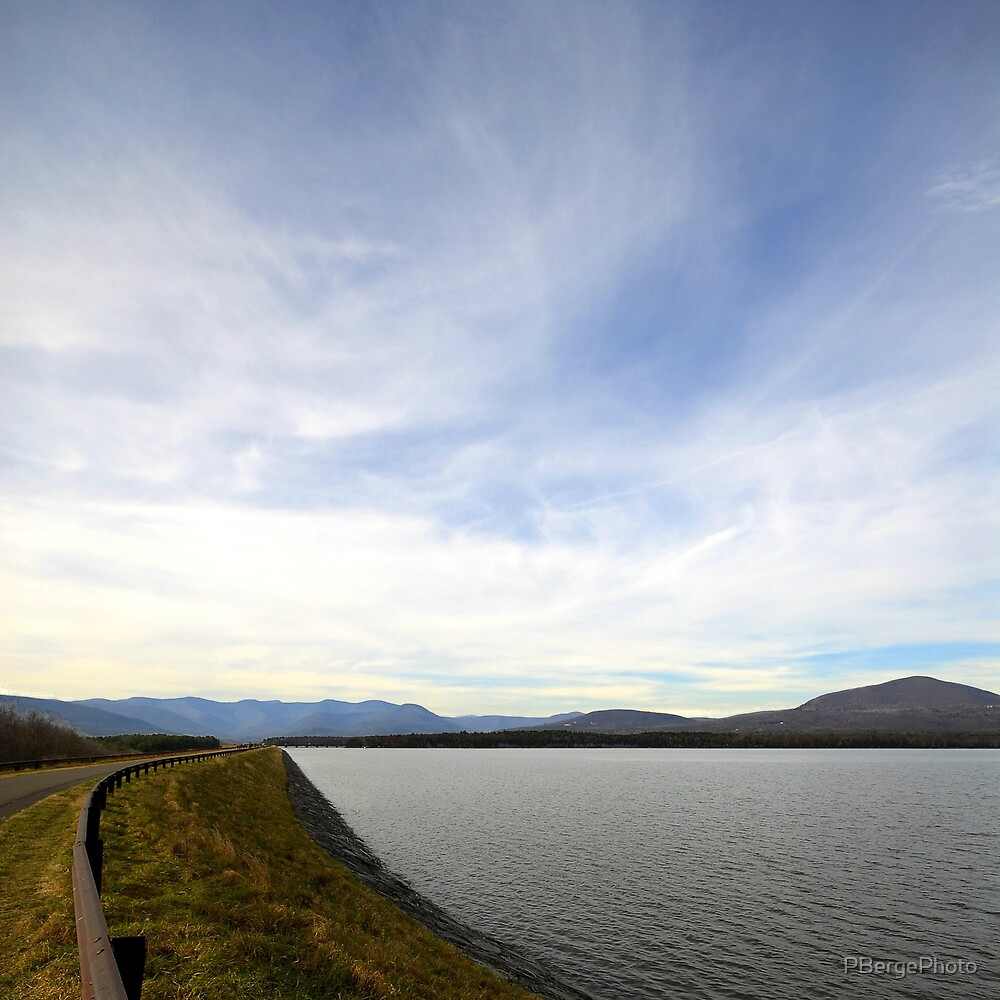 Ashokan Reservoir Scenic Photo by PBergePhoto