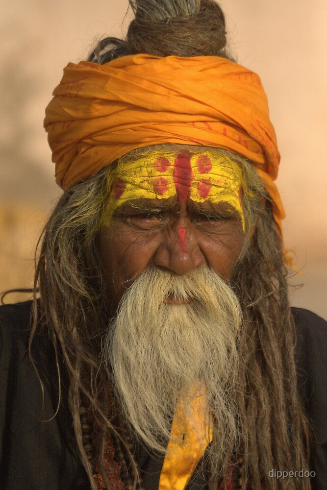 Wiseman of Varanasi by dipperdoo