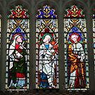 Lower Tier of Figures in a Window by kalaryder