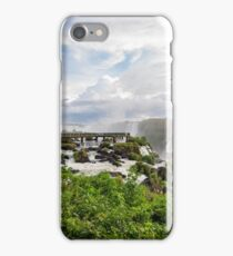 Early morning at the Iguazu Falls iPhone Case/Skin