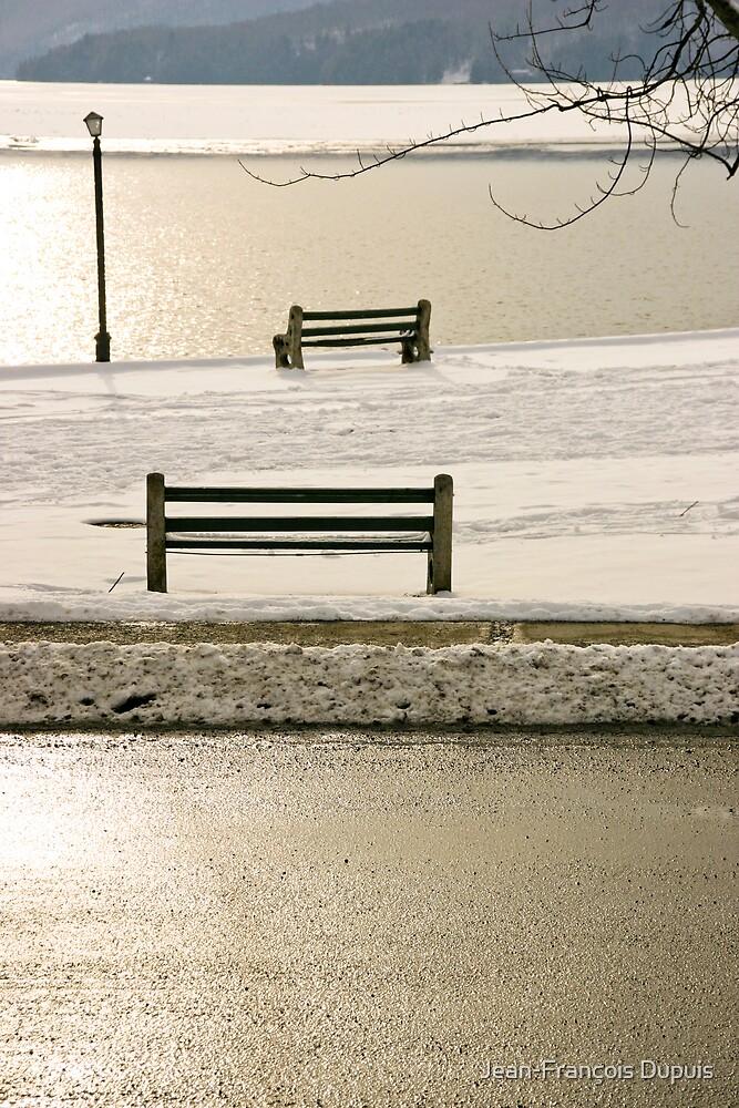 Bench by Jean-François Dupuis