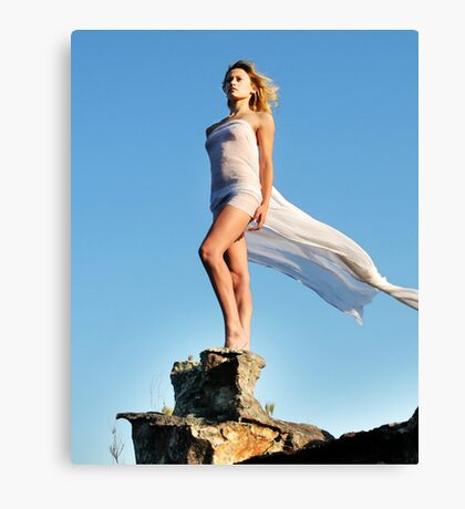 Goddess of the Mountains Canvas Print