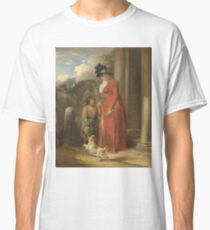 George Morland - The Squires Door Ca. 1790 Classic T-Shirt