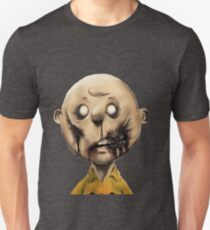 Charlie Brown is a zombie Unisex T-Shirt