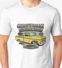 Greasy's Garage Yellow Design Unisex T-Shirt