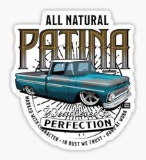 All Natural Patina Blue Sticker