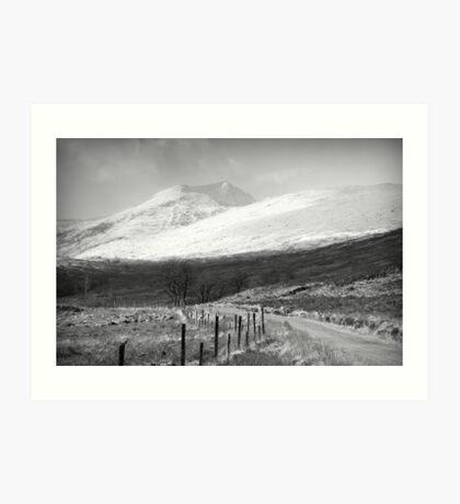 Leach Doire Lochaidh  Art Print