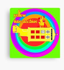 YELLOW TIME MACHINE  Canvas Print