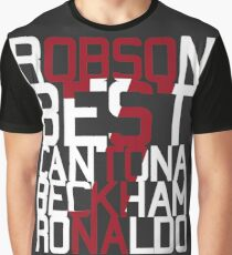 Manchester United 7's Graphic T-Shirt