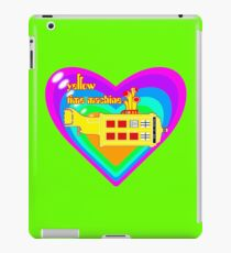 WE ALL LIVE IN A YELLOW TIME MACHINE  iPad Case/Skin