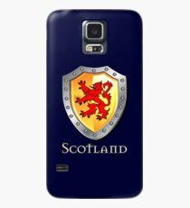 Scotland Lion Rampant Shield Hülle & Klebefolie für Samsung Galaxy