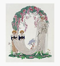 Georges Barbier - The Bride Photographic Print