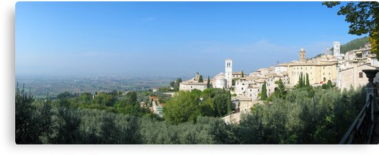Old Assisi by Peter Cook