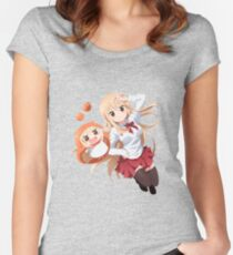 Umaru-chan Women's Fitted Scoop T-Shirt