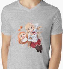 Umaru-chan Men's V-Neck T-Shirt