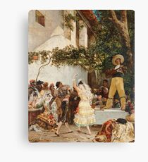 Georges Jules Victor Clairin - The Spanish Dancers Canvas Print