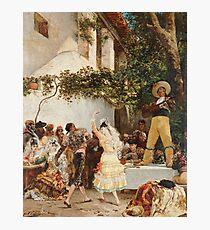 Georges Jules Victor Clairin - The Spanish Dancers Photographic Print