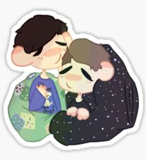 Light Hearted Lester and Wholesome Howell Sticker