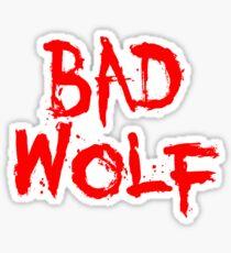 Badwolf Sticker