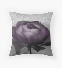 The Purple Throw Pillow