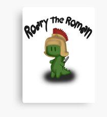 Roary the Roman Canvas Print