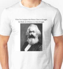Funny History Class Karl Marx Meme Unisex T-Shirt