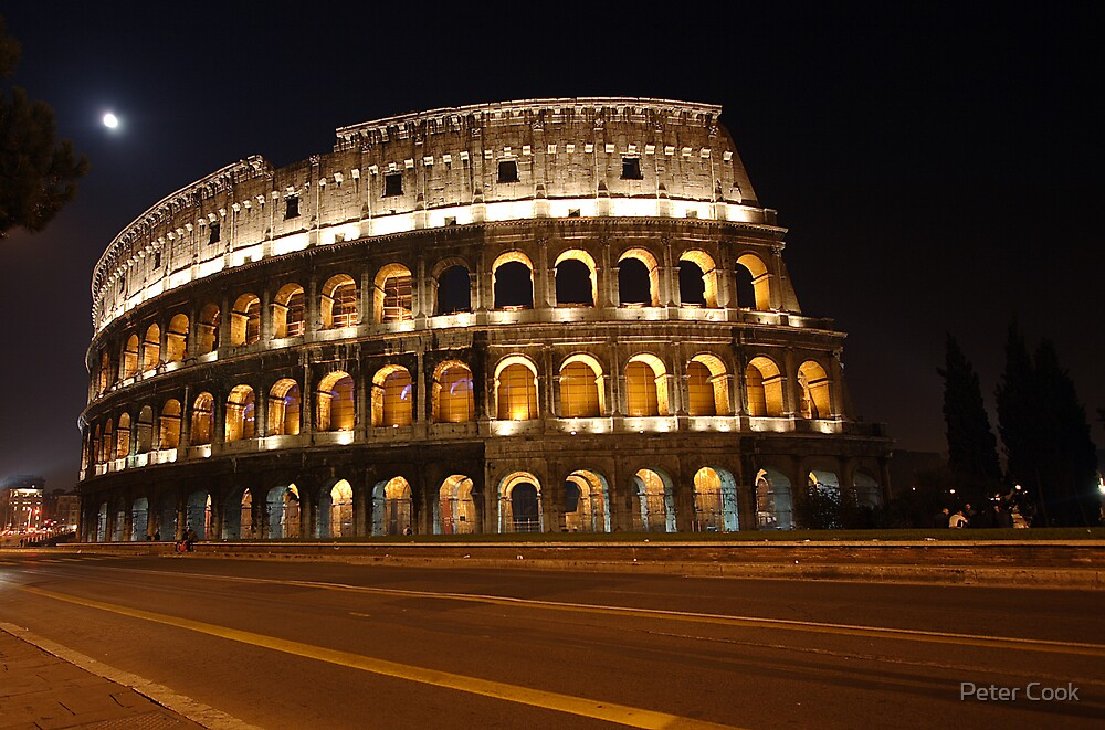 Roman Coliseum by Peter Cook