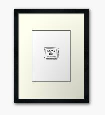 Fun in a Cartridge Framed Print