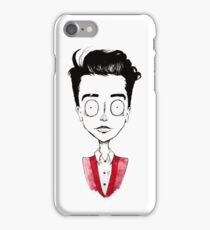 Tim Burton Brendon iPhone Case/Skin